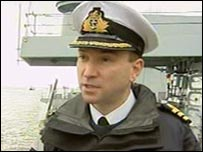 Commander Andy Webb