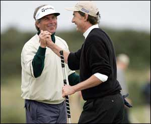 Fred Couples and Craig Heatley