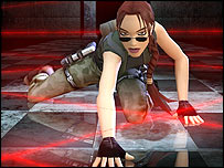 Artwork from Tomb Raider game