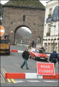 The old Monnow bridge