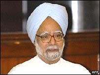 Congress leader Manmohan Singh
