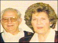 The late Gordon Hurst and his wife