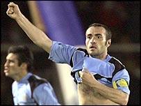 Uruguay defender Paolo Montero