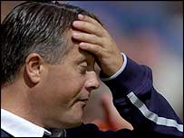 Leicester boss Micky Adams