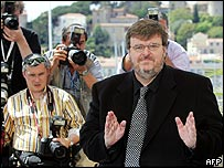 Michael Moore at Cannes