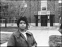 Linda Brown in 1964