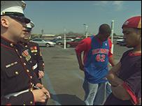 A scene from Fahrenheit 9/11