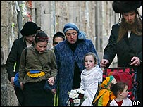 Ultra Orthodox family