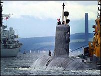 HMCS Chicoutimi under tow