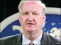 Lorne Craner, jefe de la oficina de Derechos Humanos del Departamento de Estado de EE.UU.