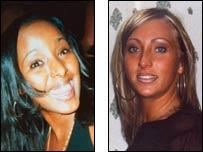 Shooting victims Asha Jama(l) and Donna Small(r)