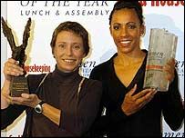 Jane Tomlinson and Kelly Holmes