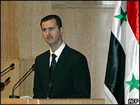 President Bashar al-Assad of Syria