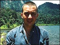 Explorer Adam Davies - (c) Andrew Sanderson