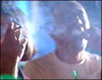 smokey pub