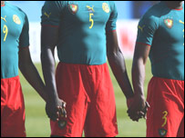 Cameroon's controversial one-piece strip