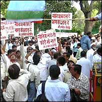 Sonia Gandhi supporters