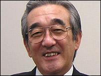 Mitsubishi President Hideyasu Tagaya (September 2004)