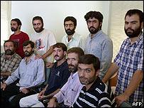 Ten Turkish hostages released in Iraq