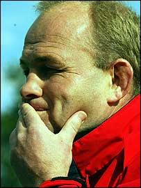 New England coach Andy Robinson