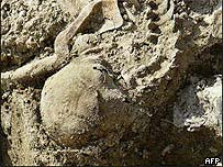 Srebrenica grave, AFP