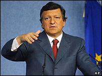 European Commission President-designate Jose Manuel Durao Barroso