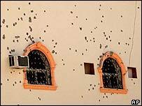 Scene of a shootout in Riyadh