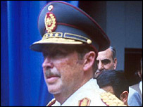 Gen Alfredo Stroessner of Paraguay in 1986 (Photo: Visnews)
