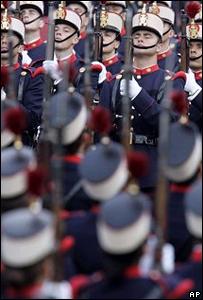 Desfile en Madrid por el Día de la Hispanidad