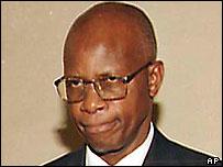 Justice Minister Patrick Chinamasa