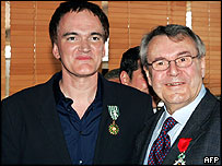 Quentin Tarantino and Milos Forman