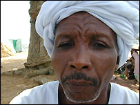Issa Ibrahim Taha in Mosai Camp near Nyala in South Darfur, Sudan