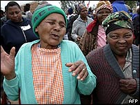 Soweto resident celebrate the township's centenary