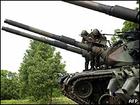 Taiwanese tanks