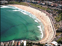 Bondi Beach, April 24, 2000