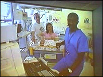 Hospital video link