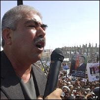 General Dostum campaigning
