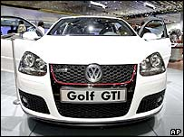 The new VW Golf GTI
