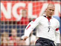 David Beckham, AP