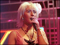 Wendy James in Transvision Vamp