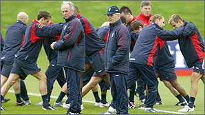 Find out about life in the England football camp