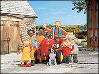 Little Red Tractor on CBeebies