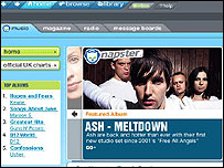 Napster screenshot