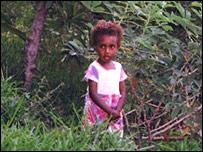 Child on Tanna Island
