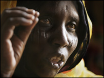 Refugiada sudanesa