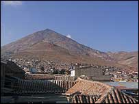 View of Cerro Rico from Potosi