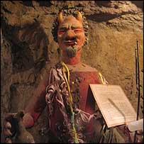 El Tio, the miners' devil god
