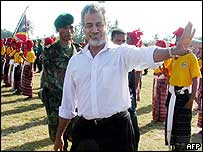 President Xanana Gusmao, 20 May 04