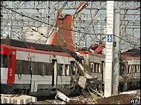 Madrid wreckage