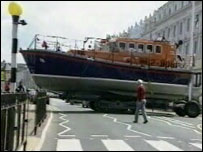 The Llandudno lifeboat